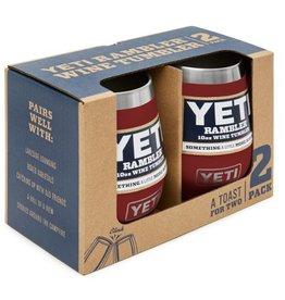 Yeti Rambler Wine 2 Pack Brick Red 10 oz