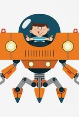 Bagnoles & bobinette Robot Pals
