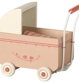 Maileg Small pink pram
