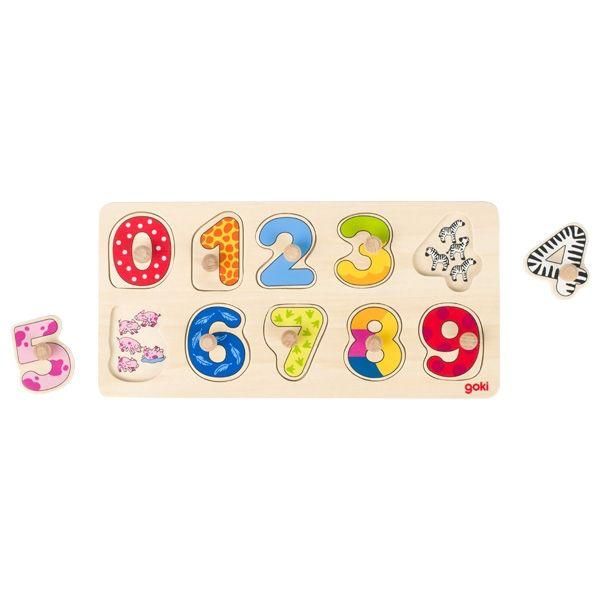 Goki Puzzle numbers