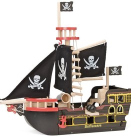 Le Toy Van Barbarrosa Wooden Piarate Ship