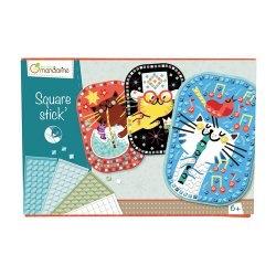 Avenue Mandarine Creativity box Square Stick