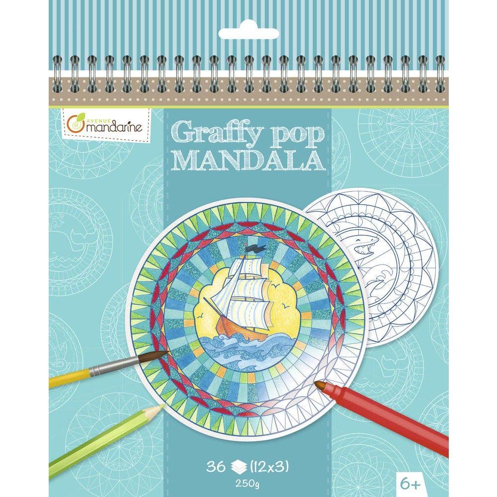 Avenue Mandarine Cahier à colorier