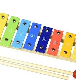 Goki Xylophone de bois avec livret de Chanson