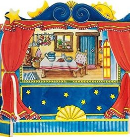 Goki Théâtre de marionnettes à doigt