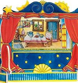 Goki Théâtre de marionnettes à doigts
