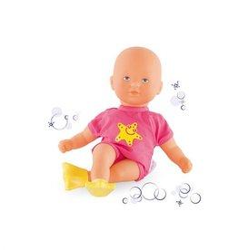 Corolle Mini bébé bain Rose