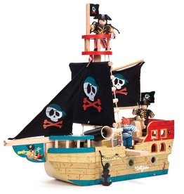 Le Toy Van Barco Pirata Jolly