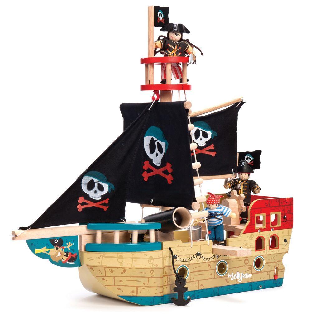 Le Toy Van Bateau de pirates Jolly