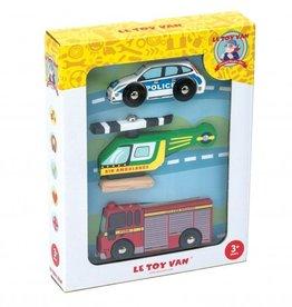 Le Toy Van Transport vehicles