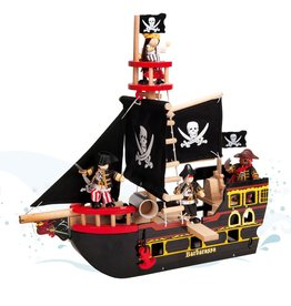 Le Toy Van Barco Pirata Barbarossa