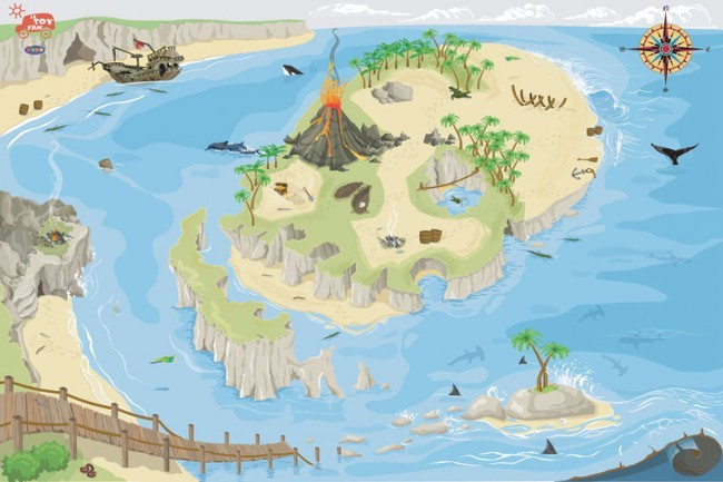 Le Toy Van My first Island Play Mat