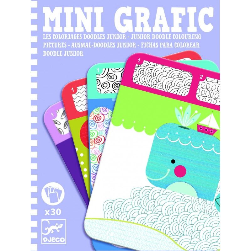 Djeco Mini Graphic Colouring