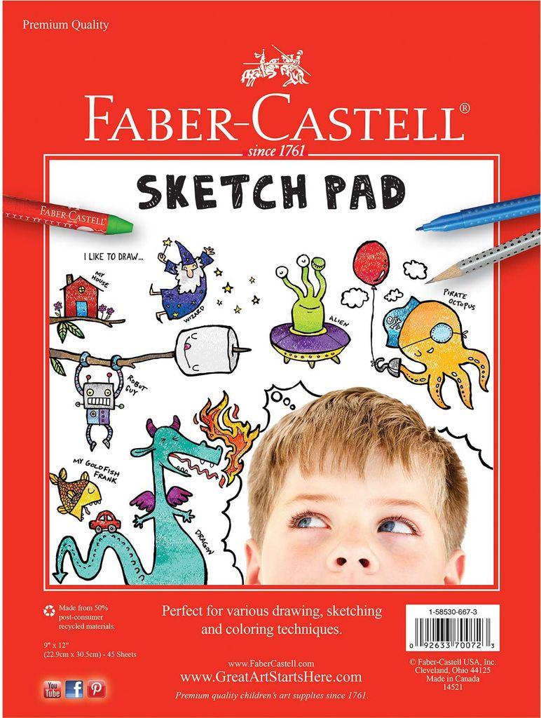Faber-Castell Papier à dessin.