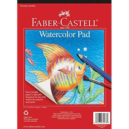 Faber-Castell Papier pour aquarelle