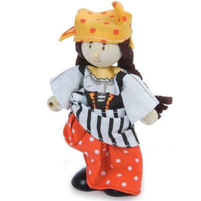 Le Toy Van Jeune fille pirates Budkins