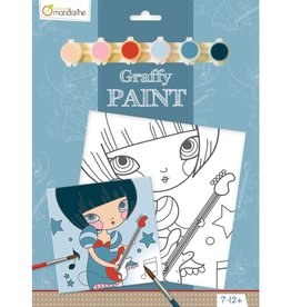 Avenue Mandarine Painting set