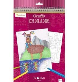 Avenue Mandarine Coloring book