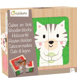 Avenue Mandarine Puzzle cubes en bois