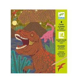 Djeco Grattes à grater Dinosaures