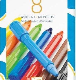 Djeco 8 pastels gels