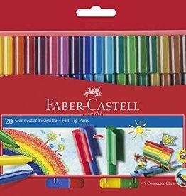 Faber-Castell 20 feutres connecteurs