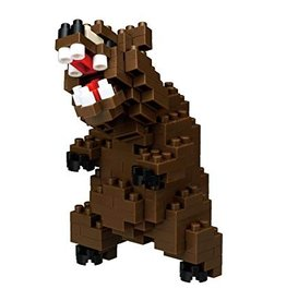 Nanoblock Ours Grizzly