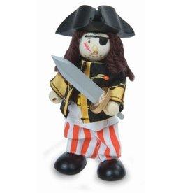 Le Toy Van Pirata parche en el ojo