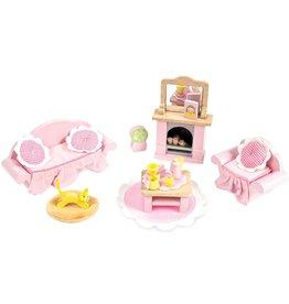 Le Toy Van Rose's sitting room