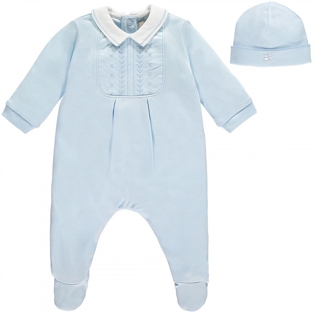 d8423e24b7996 Émile   Rose Pyjama bébé naissant -