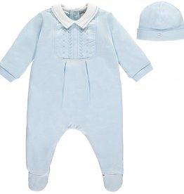 Émile & Rose Pyjama avec bonnet taille 1 mois