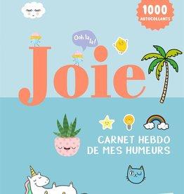 Livre Joie- Carnet hebdo de mes humeurs