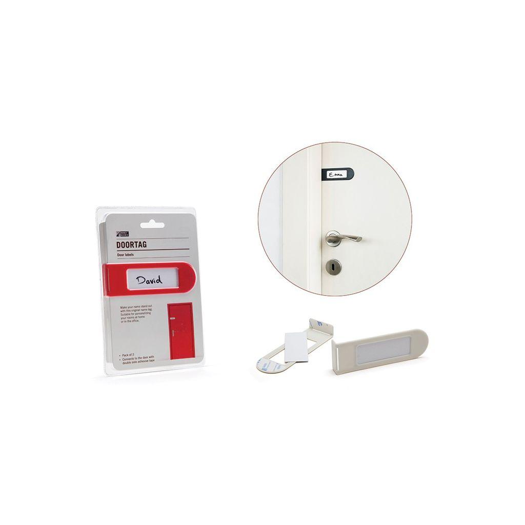 Gadgets Étiquette d'identification de porte