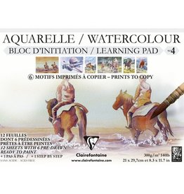 Clairefontaine Watercolour Learning Pad
