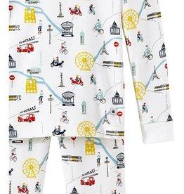 Petit bateau Pyjama Paris taille 5 ans