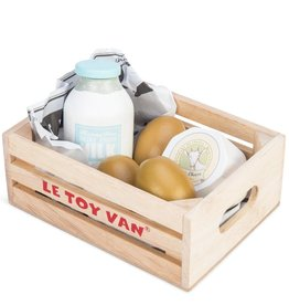Le Toy Van Dairy products crate
