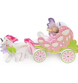 Le Toy Van Fairy Carriage with Unicorn