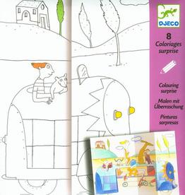Djeco Coloriage Cache-cache