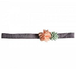 Maileg Pink and green hair band