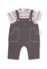 Corolle Salopette de jeans et marinière 14'' Corolle