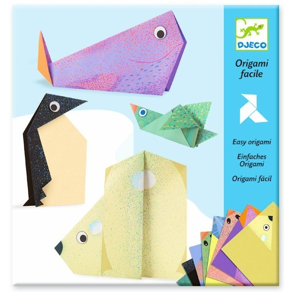 Djeco Polar Animals Easy Origami