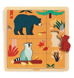 Djeco Puzzle in wood Canada