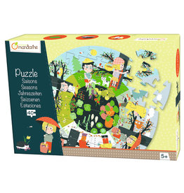 Avenue Mandarine Puzzle the seasons