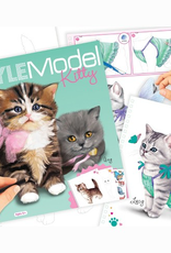 Cahier à colorier Top Model Kitty