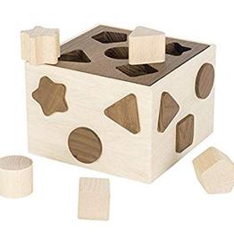 Goki Boite à Forme en bois