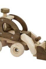 Goki Une chargeuse pelleteuse de bois