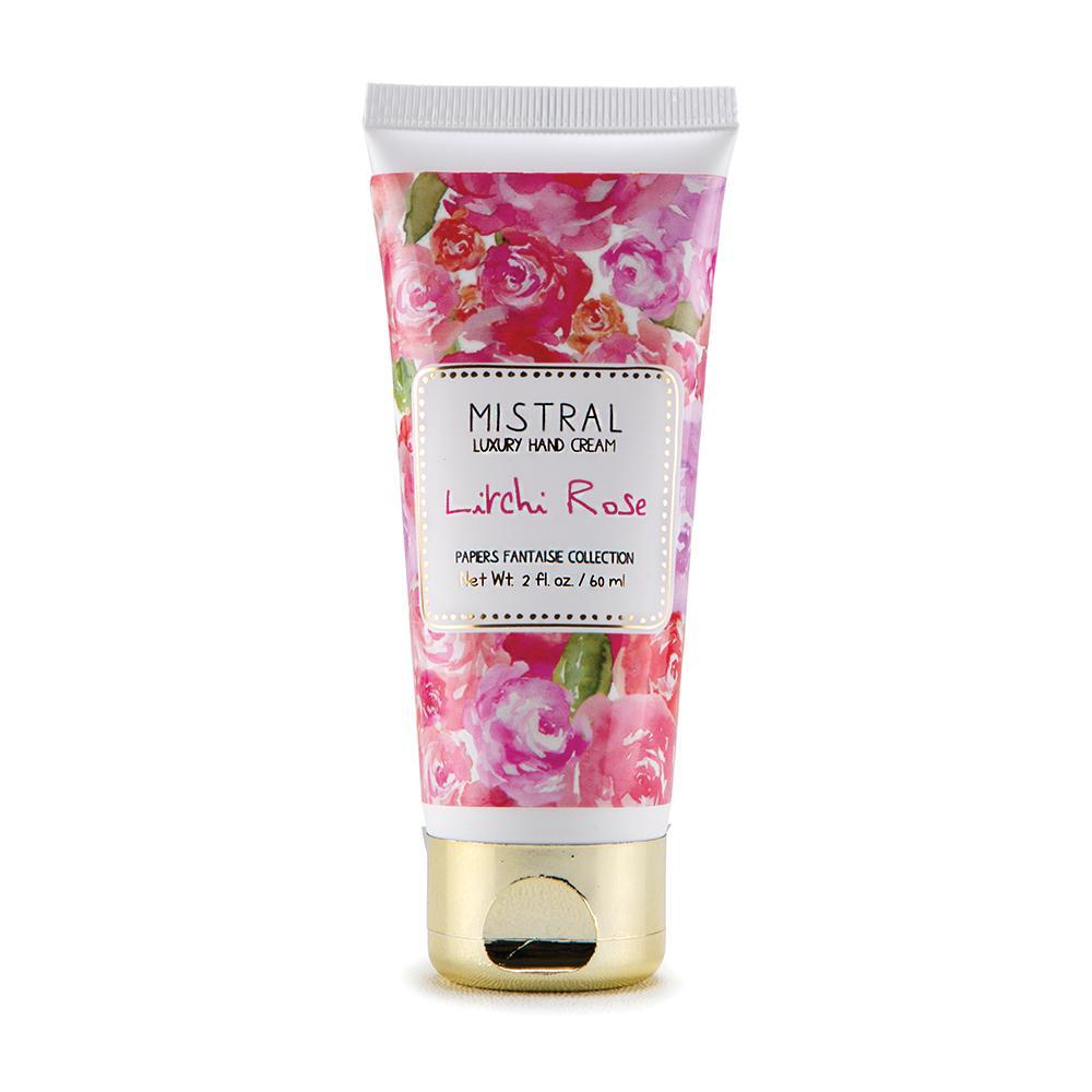 Produits de soin Mistral Litchi Rose Hand Cream