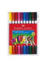 Faber-Castell 10 feutres double pointes