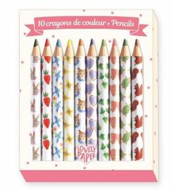 Djeco Mini boîtes de crayons