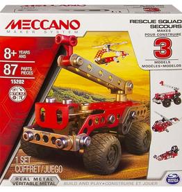 Meccano Ensemble de véhicules de secours Meccano